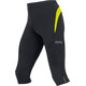 GORE WEAR R3 3/4 Tights Men black/neon yellow